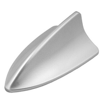Auto Dach Silber Kunststoff Haifischflosse Antenne Ornament E7Z2