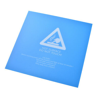 220x220 3D Printer Hotbed Build Surface with Sticker Heated Bed Sheet Blue TE917