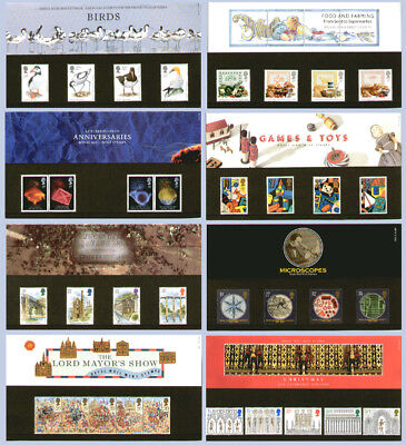 NEW Royal mail stamp commemorative presentation sets packs sheets collection