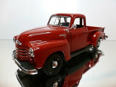 Maisto Chevrolet 3100 Pick-Up 1950  - Red 1:25 - Good Condition