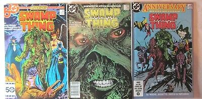 Swamp Thing #46,49 & 50 (1986, DC) 1st Justice League Dark, VF/NM