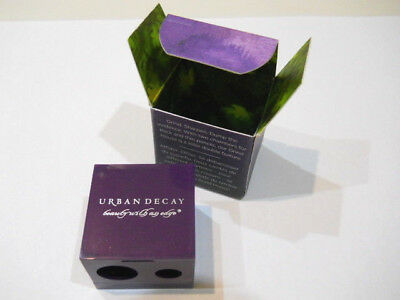 Urban Decay Grind House Double Barrel Sharpener X 2 New and Boxed