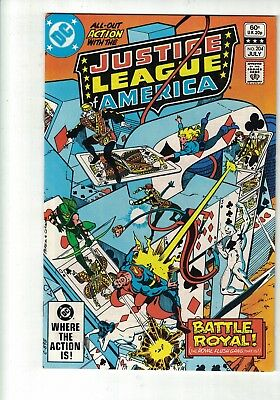 DC Comics Justice League of America no 204 July 1982 60c USA