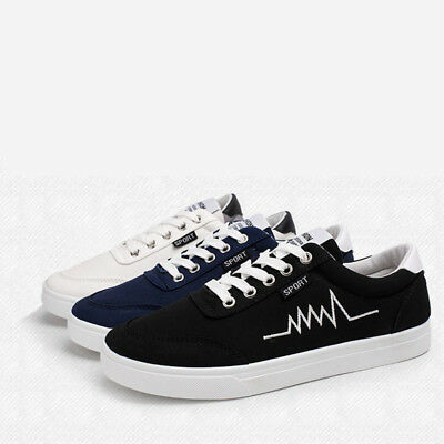 Men Summer Canvas Breathable Sneakers Male Casual Pure color White Cool Low Heel