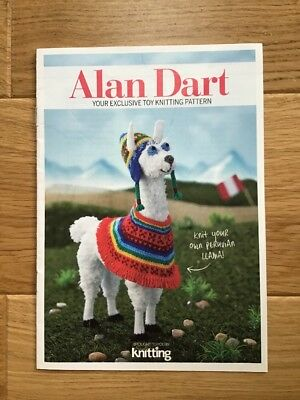 Alan Dart Knitting Pattern For Peruvian Llama