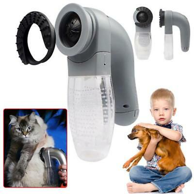 Pet Dog Electric Groomer Hair Collection Canister Fur Vacuum Shed Pal Clean