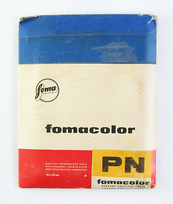 PHOTOGRAPHIC PhotoPAPER 25 Sheets 9x13cm Vintage Glossy Thin Color