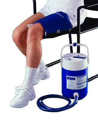 AirCast® CryoCuff® - thigh with gravity feed cooler  1 EA