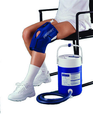 Knee Cuff Only - Large - for AirCast CryoCuff System  1 EA