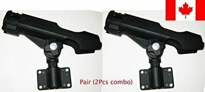 KUFA Clamp On Fishing Rods Holder Mount In 3 Different Ways