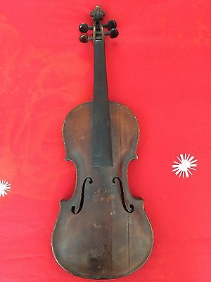 Antique Old Vintage 4/4  Full Size Violin Joannes Georgius Hellmer 1764