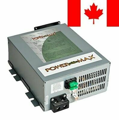 PowerMax PM4 45A 110V AC to 12V DC 45 Amp Power Converter with Built-In 4 Sta...