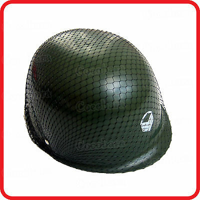 Kids Childrens Camouflage Army Military Commando Soldier Helmet-Party-Costume