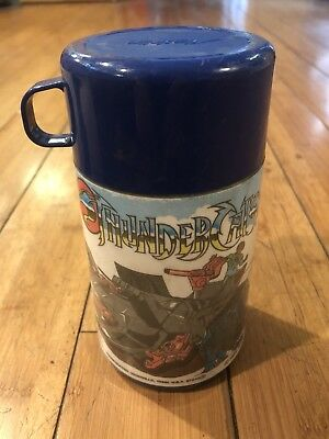 Vintage Lot plastic lunch boxes & Thermos Battle Beasts Shera Thunder Cats Hulk