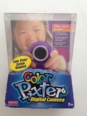 Fisher Price Color Pixter Digital Camera Age 5+