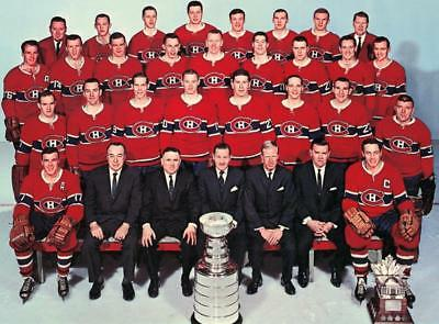 1965 Montreal Canadiens Team Photo 8X10