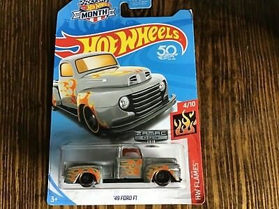 2018 Hot Wheels #004 Zamac Walmart Exclusive /'49 FORD F1 TRUCK