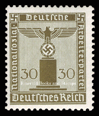 EBS Germany 1942 30 Pfennig Nazi Party Official Dienstmarke Michel 164 MNH**