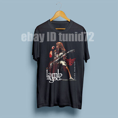 Mark Morton Lamb Of God Heavy Metal Guitarist Men's T-Shirt Size S-M-L-XL-XXL
