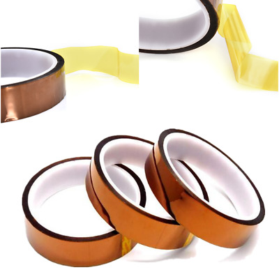 30M 20mm 100ft Kapton Tape Adhesive High Temperature Heat Resistant Polyimide