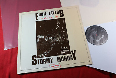 Eddie Taylor  STORMY MONDAY  -  LP Blues Beacon Germany 1983 sehr gut