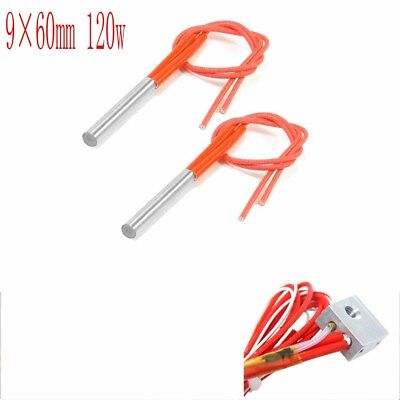 2pcs Cartridge Heater Heating elements 3D Printer AC 110V 100-250W  90 X 60MM