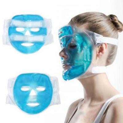 Gel Ice Pack Cooling Face Mask Pain Headache Relief Chillow Relaxing~Gift