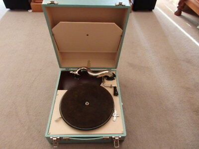 Green Gramophone - Funky Retro Colour In Incredible Condition