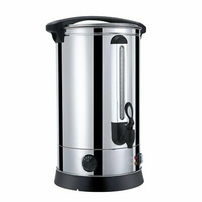 30 Litre Catering Hot Water Boiler Automatic Heating Tea Urn Coffee Stainless BA