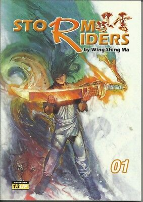 Storm Riders Vol #1-11 by Wing Shing Ma