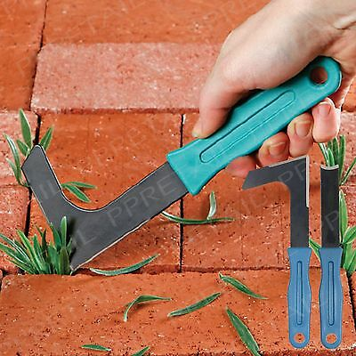 Patio Weed Remover Set Garden Moss Paving Block/Brick/Slab Groove Hand Tool Kit