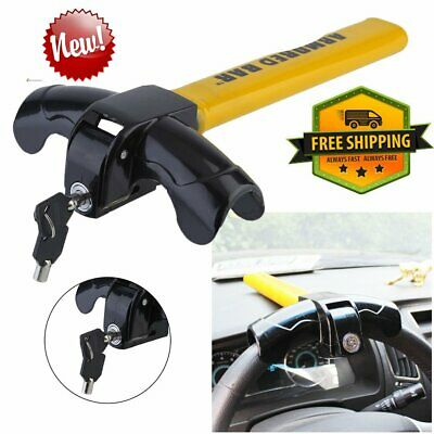 Universal Heavy Duty Car Wheel Steering Lock Anti Theft Security Van Bt