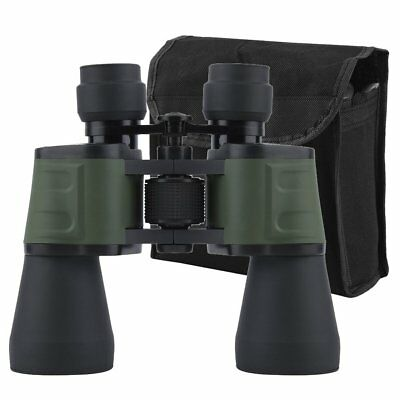 INCD VAT Wide Angle 10x-50x Zoom HD Binoculars Birdwatching 50mm Telescope w/Bag