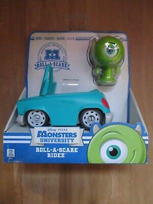 Disney Pixar Monsters Inc.University Mike Roll-a-Scare Ridez Rides Vehicles NEW
