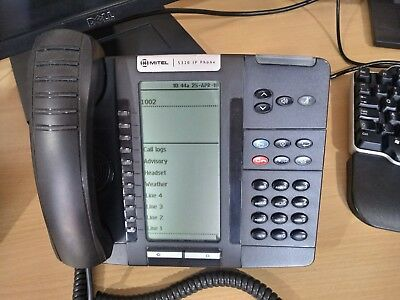 MITEL 5320 IP Phone configured SIP Mode for connection to Sipgate, Asterisk  etc
