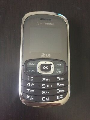 Verizon LG Octane VN530 Flip Phone Qwerty w/ Car Charger (USED) Works!