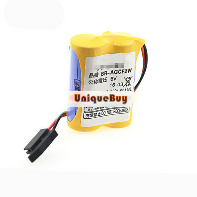 New BR-AGCF2W 6V for 2200MAH for FANUC A98L-0031-0011 CNC machine tool battery