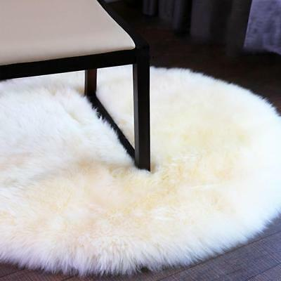 Soft Fluffy Sheepskin Style Faux Fur Bedroom Rugs Chair Cover Hairy Carpet Seat
