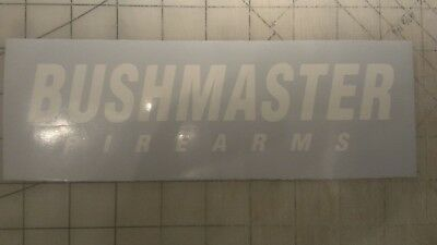 Bushmaster Decal Window Sticker
