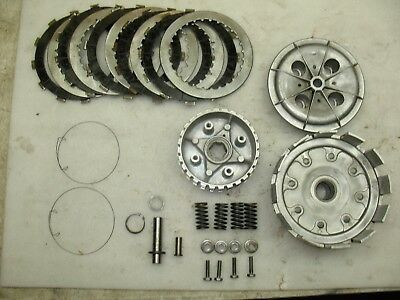 1963 Honda Dream 305 Ca77 Clutch Complete + Springs + Bolts + Washers - Nice