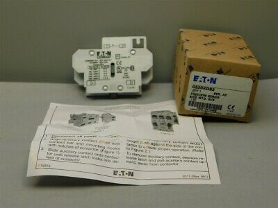 Eaton C320KGS2 Series A2 Freedom Series Side Mount Auxiliary Contact 1 N.C.