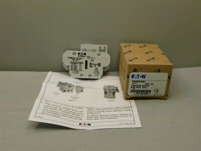 Eaton C320KGS1 Series A2 Freedom Series Side Mount Auxiliary Contact 1 N.O.