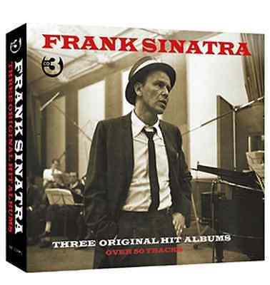 "FRANK SINATRA 3-CD Boxset* 3 Original Hit Albums from the 1950's ""Capitol"" years"
