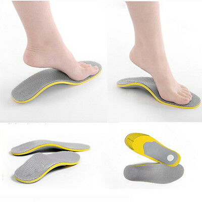 Foot Soothers Sole Memory Orthotic Arch Support Insoles Shock Absorption WAGH