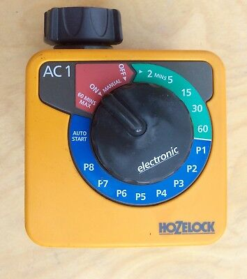 Hozelock Ac1 Simple Electronic Water Timer Model 2705 With