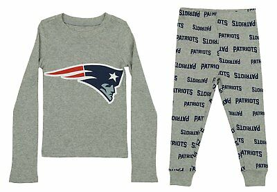 OuterStuff NFL Toddlers New England Patriots Team Tight Fit Two-piece Pajama Set