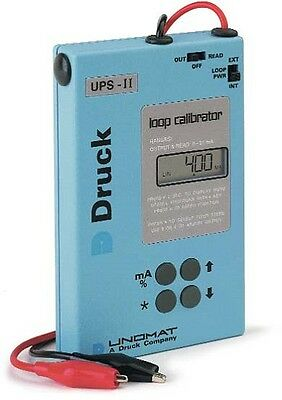 Druck UPS-II Current Loop Calibrator