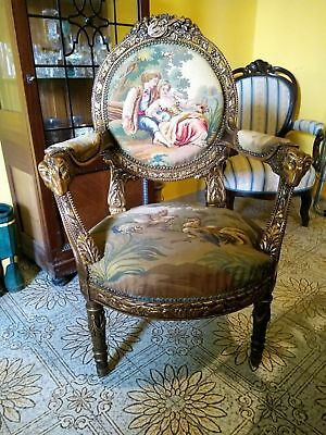 18th century French Tapestry Armchair for sale