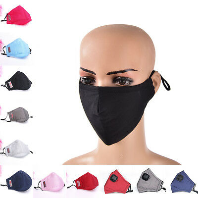 1 Cotton Mouth Mask Anti-Dust Cloth Mask Respirator with 5 Filter Cloth MasATJC