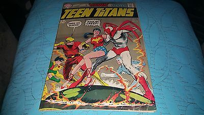 Teen Titans #21 (May-Jun 1969)  LAST 12 CENT ISSUE!!..HAWK AND DOVE!!!..VG/FINE